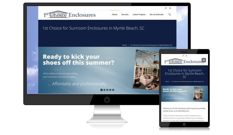 1stchoiceenclosures.com