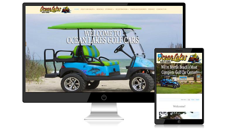 oceanlakesgolfcars.com